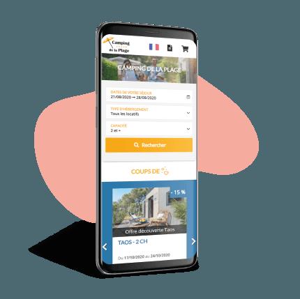 eSeason Resa - Systeme de réservation pour le camping