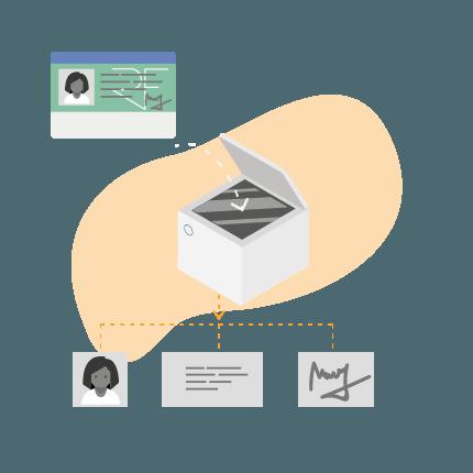 Scanner piece identité - extraction données