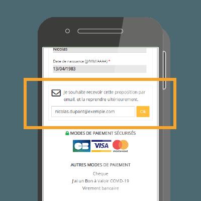 Envoi-panier-email