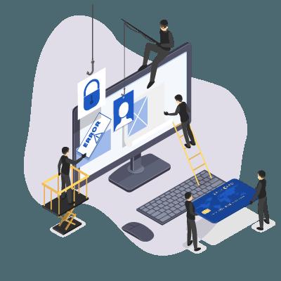 Hacker-actions-virus-camping